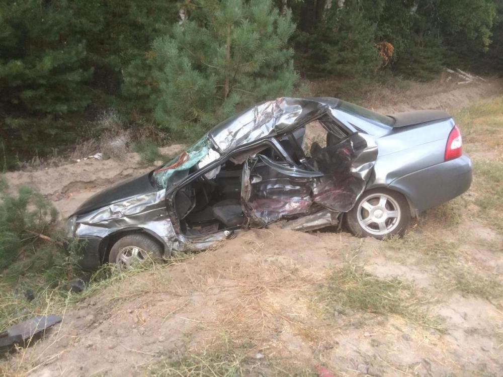Водитель «Приоры» погиб под колесами грузовика в Рассказовском районе