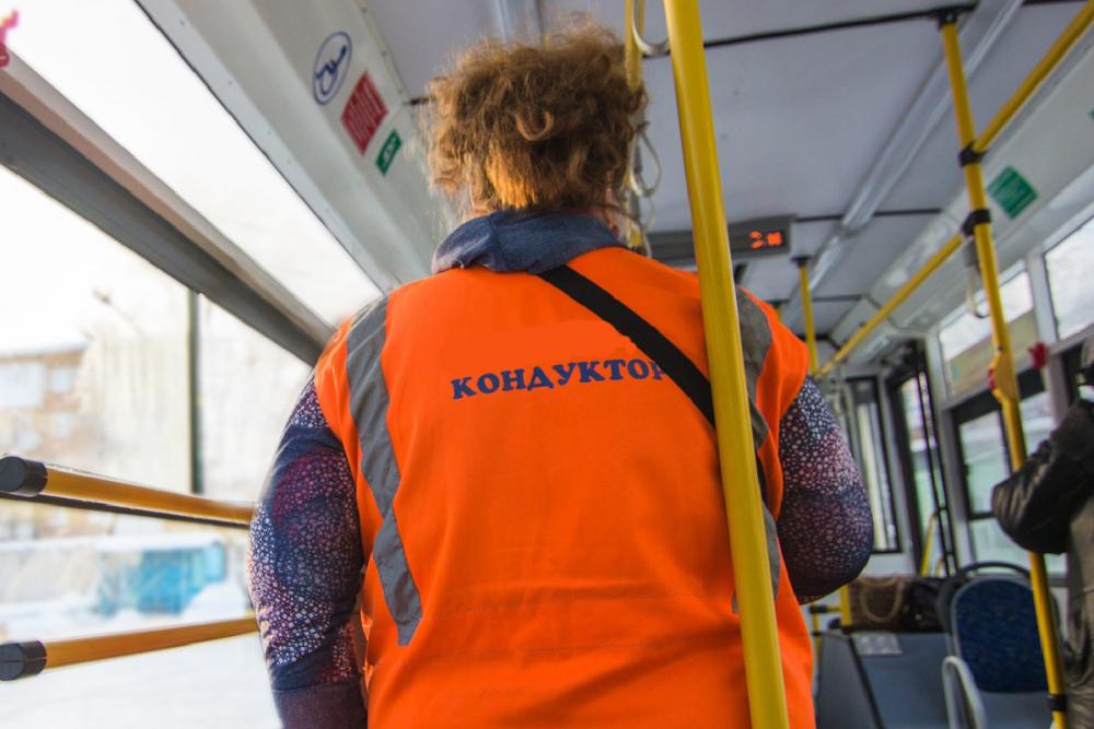 Кондуктор тамбовского автобуса нахамила пассажиру, пытавшемуся оплатить проезд картой