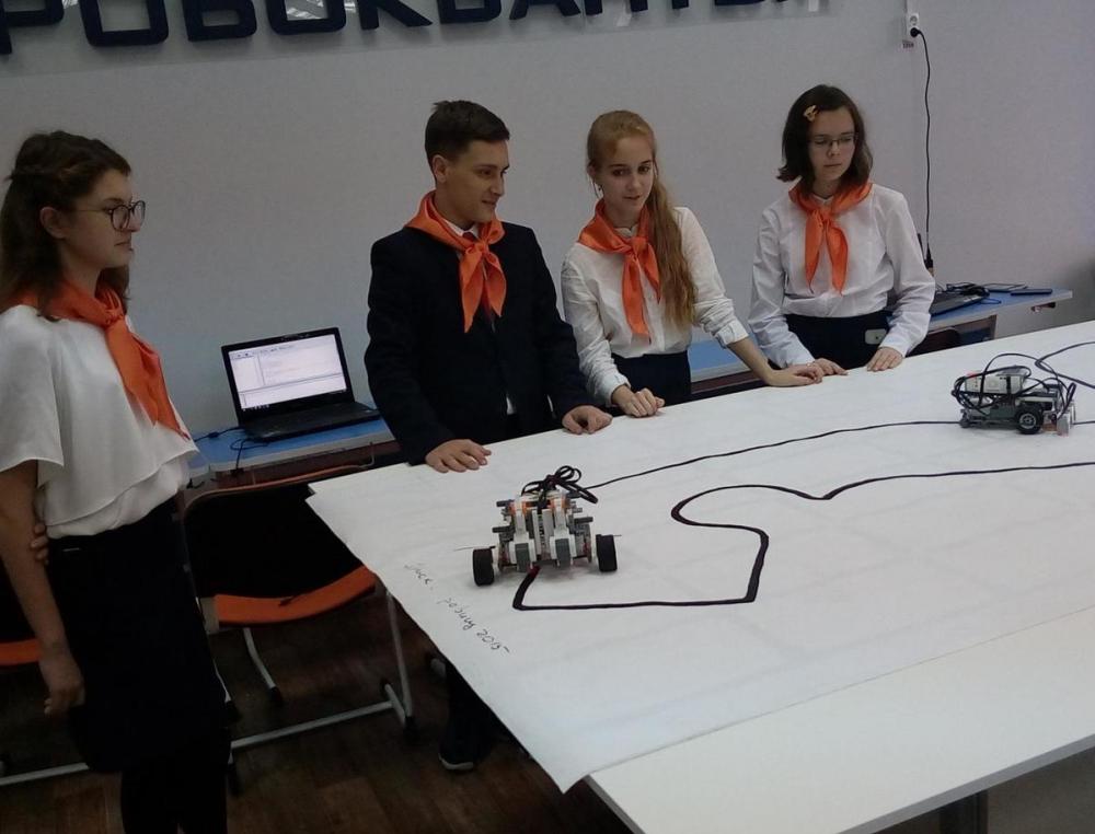858 детей, 6 направлений, 70 победителей конкурсов - «Кванториум-Тамбов» отметил год работы