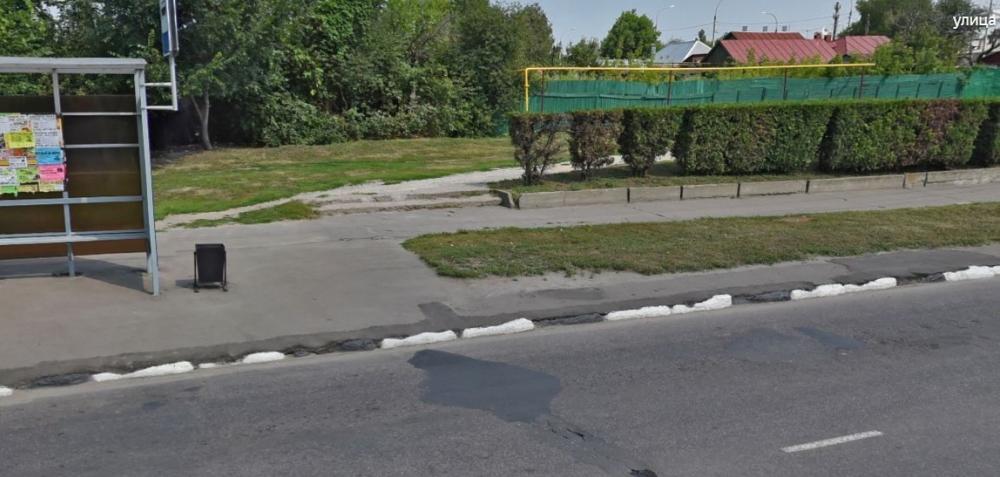 Администрация Тамбова ответила на публикации о покраске бордюра, которого нет