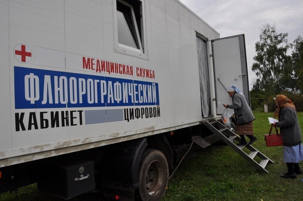 Более сорока трех тысяч жителей Тамбовской области  прошли обследование с помощью передвижных флюорографов