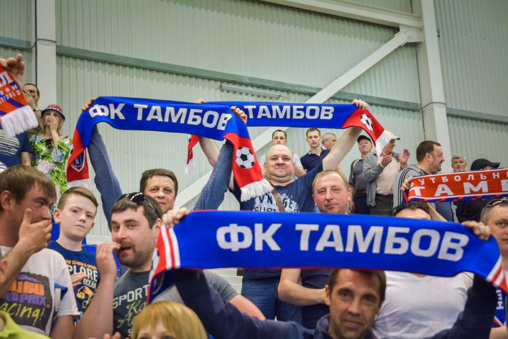 «Тамбов» сыграет в стыках с «Амкаром»