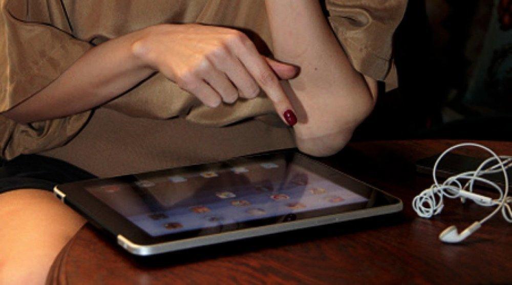 Тамбовчанка украла планшет у зазевавшегося мужчины