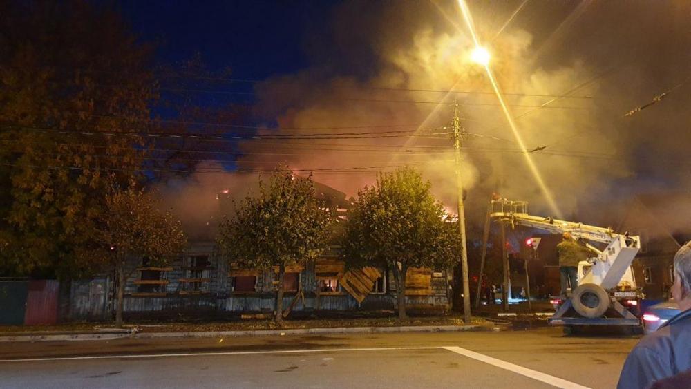 Управление по охране памятников культуры считает, что дом по Базарной подожгли