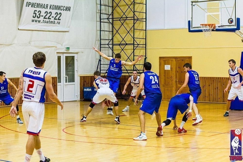 БК «Тамбов» прошел в 1/8 финала Кубка России