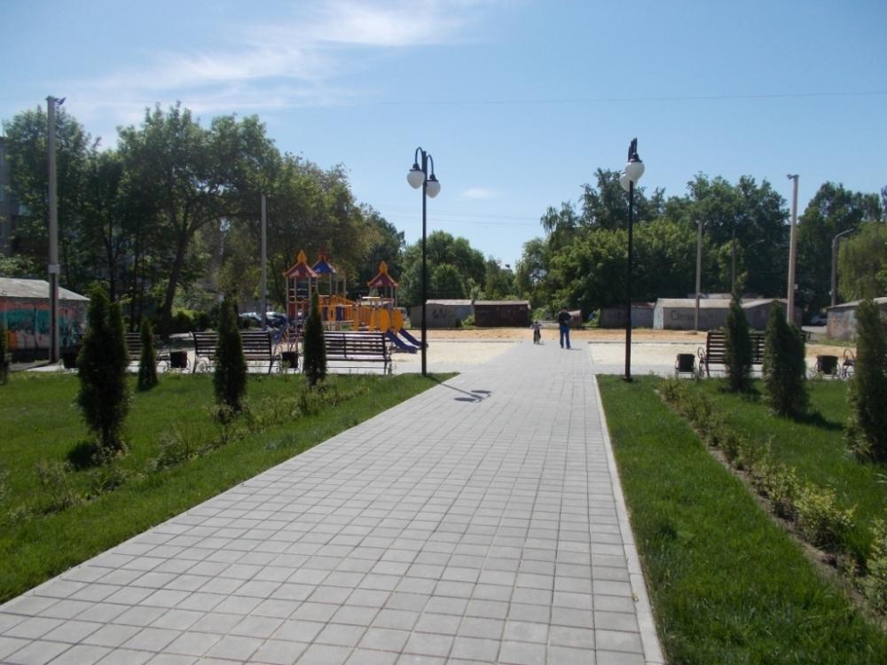 Жители Тамбова добились того, чтобы сквер на Володарского был «Спортивным»