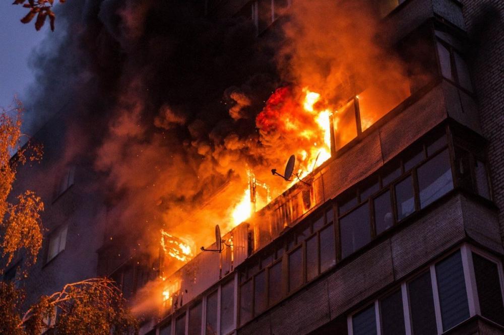 Сегодня в Тамбове сгорели две квартиры