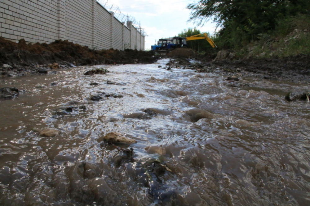 Северная часть Тамбова продолжает испытывать жажду