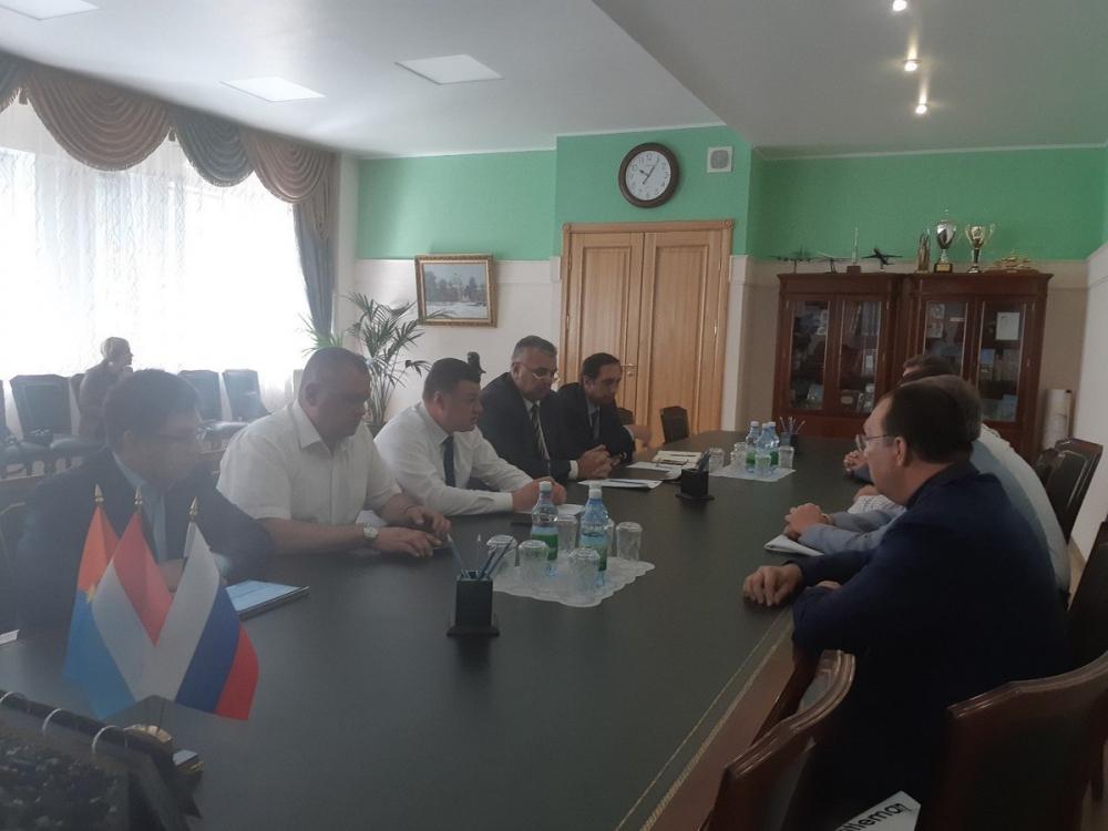 Глава региона встретился с президентом Всемирного общества этноспорта