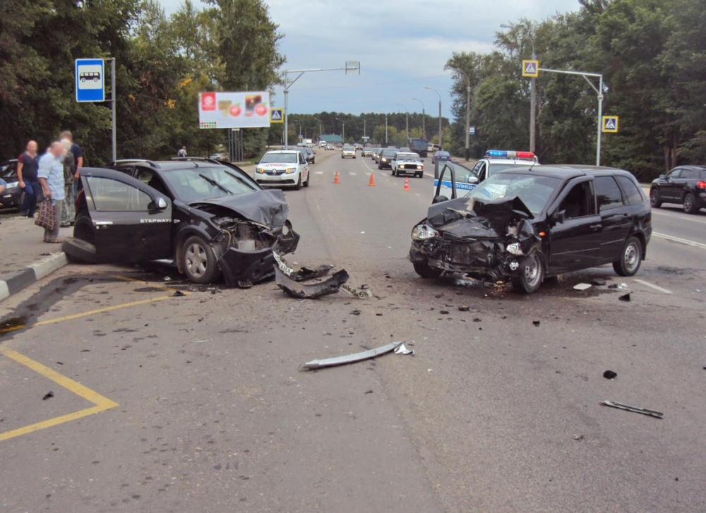 В результате аварии на Рассказовском шоссе Тамбова пострадала девочка