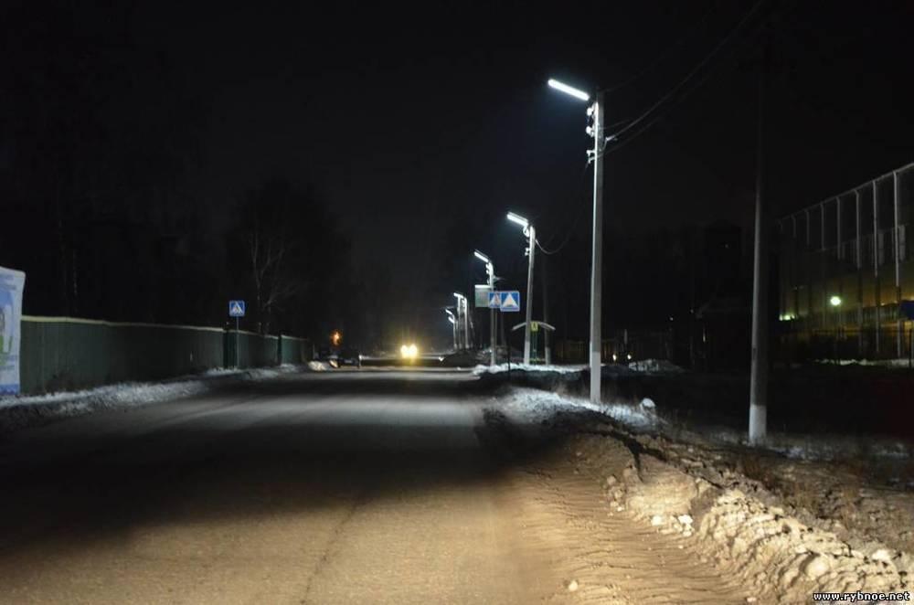 На улицах Мичуринска зажглись 4500 новых фонарей