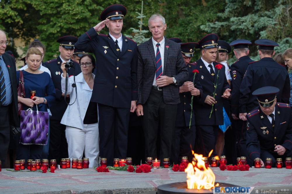 «Свечи памяти» зажгли тысячи тамбовчан