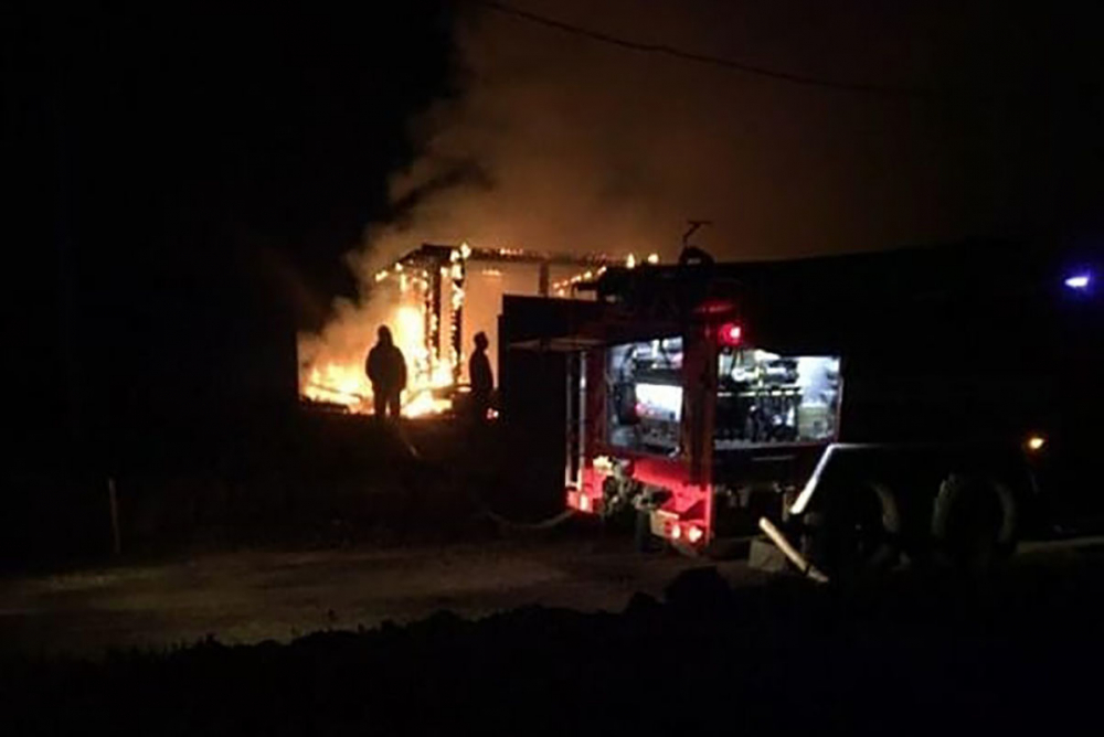 В Тамбове сгорел уникальный купольный дом