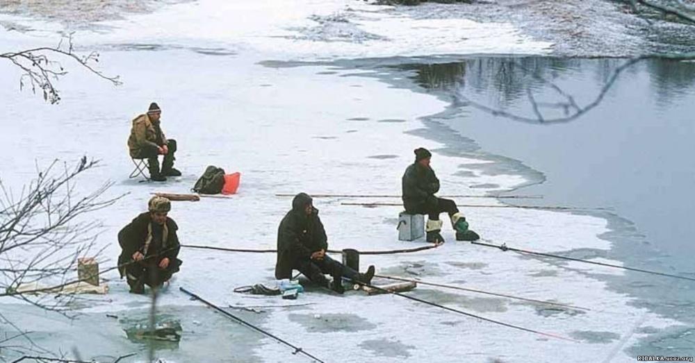 Любителей зимней рыбалки предупреждают: лед на водоемах Тамбовской области слишком тонкий