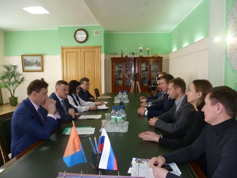 Александр Никитин провел рабочую встречу с представителями Агентства стратегических инициатив