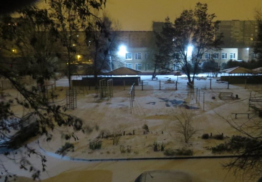 Ноябрьская тамбовская погода решила поучаствовать в проекте «Новогодняя столица России»