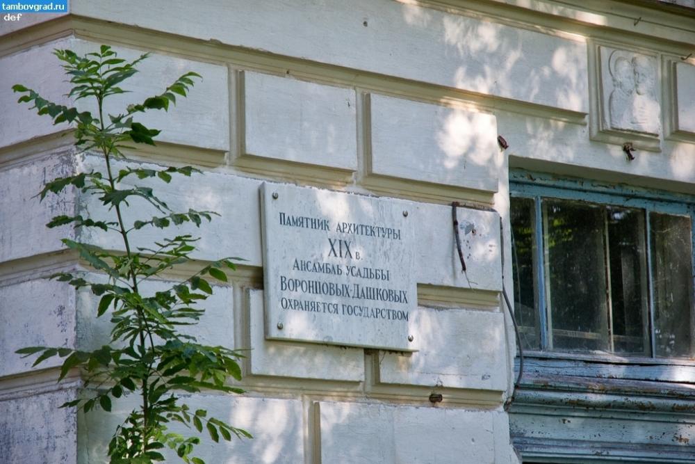 Усадьбу Воронцовых-Дашковых растаскивают вандалы
