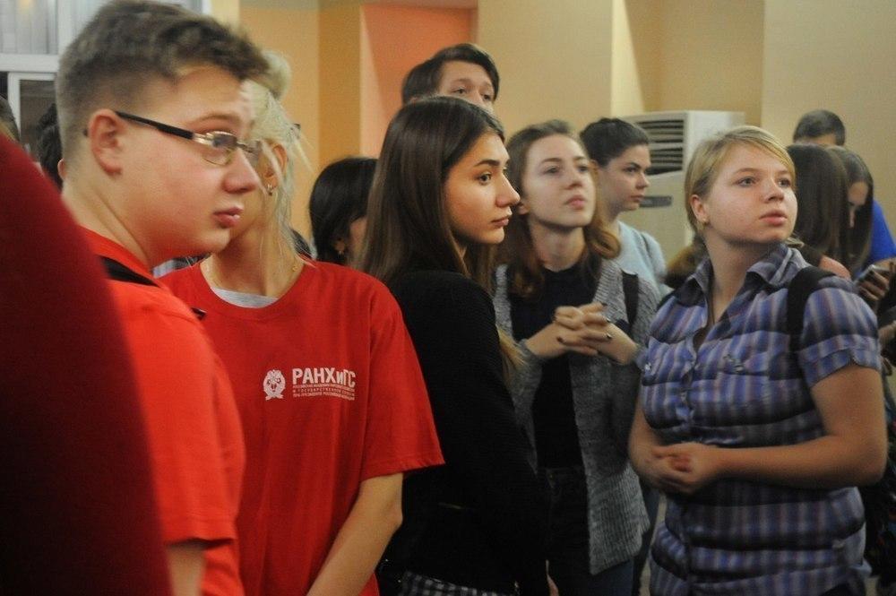 Тамбовские студенты приняли участие в квесте по Останкино