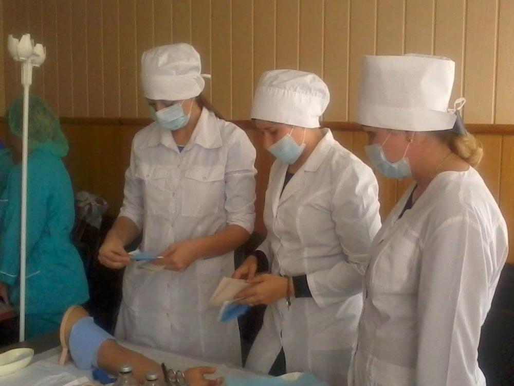 Первокурсников тамбовского  медицинского колледжа посвятили в студенты