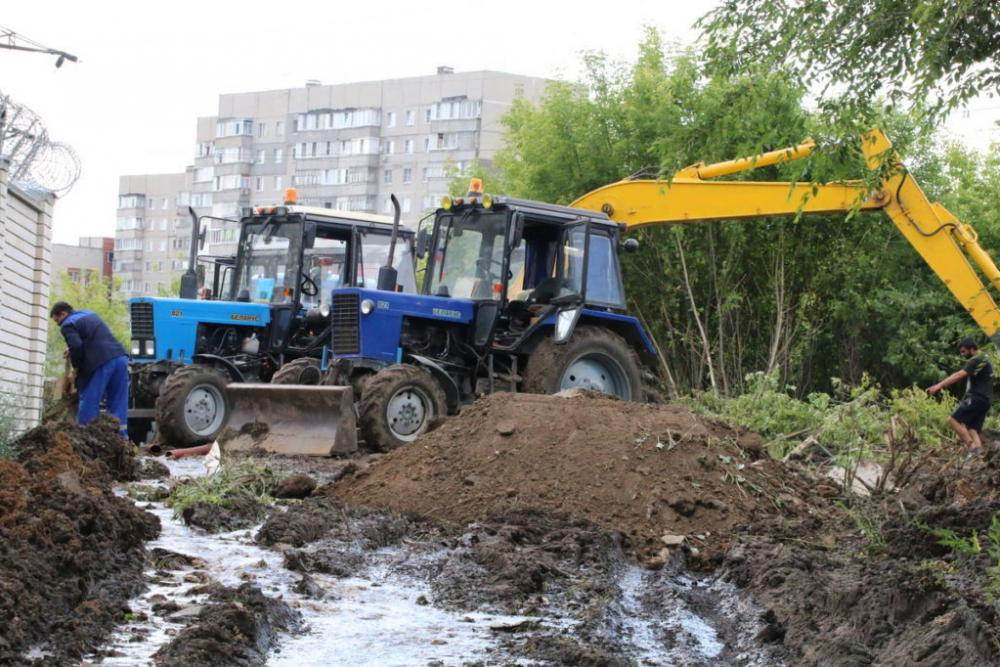 Коммунальная авария на севере Тамбова ликвидирована
