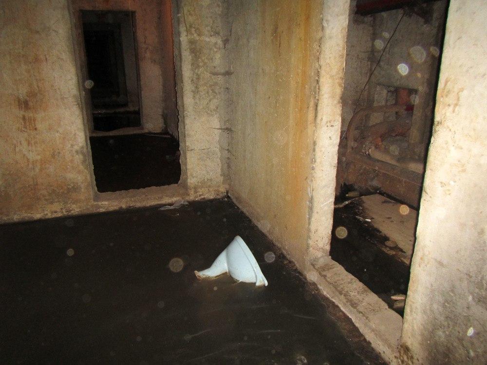 Подвал дома на Широкой в Тамбове заполняется нечистотами