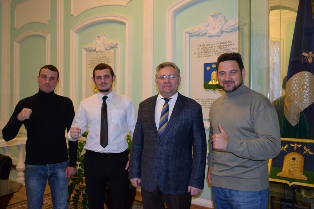 Тамбовские претенденты на звание «Заправский борец России» отправятся на фестиваль «Рыцари Ринга Подмосковья»