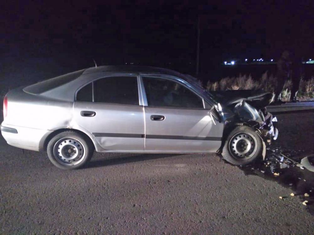 Пьяный водитель врезался в грузовик на трассе в Тамбовской области