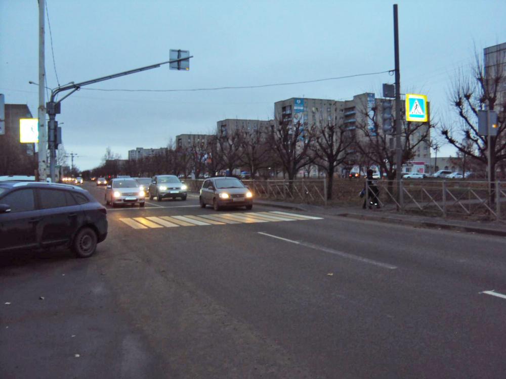 На улице Магистральной в Тамбове сбили пенсионерку