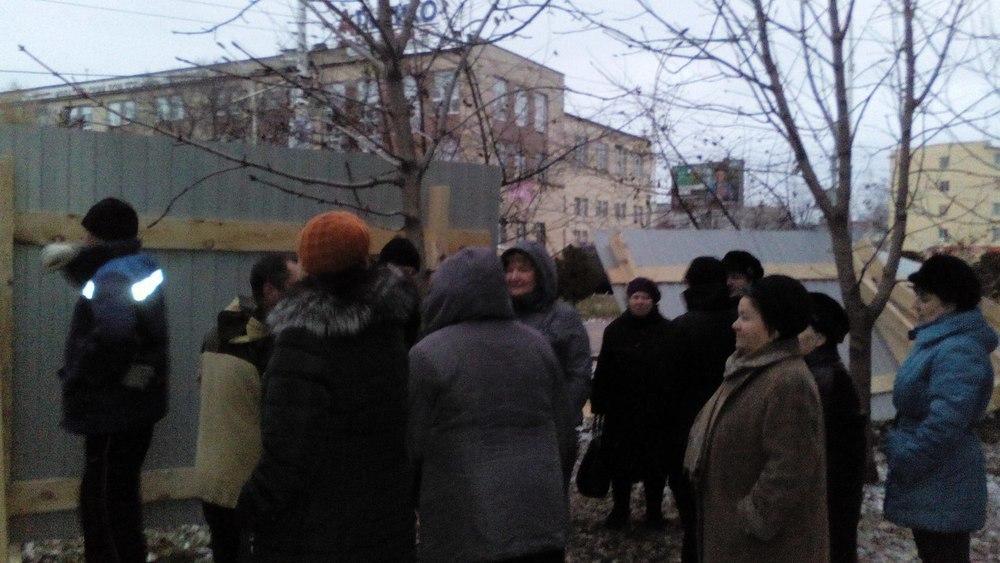 Жителям Моршанского шоссе удалось отстоять зеленую зону