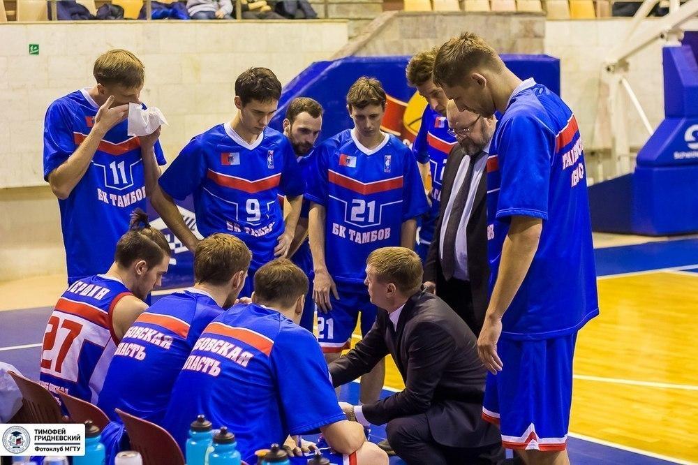 Тамбовским баскетболистам не удалось повторить успех первой выездной встречи