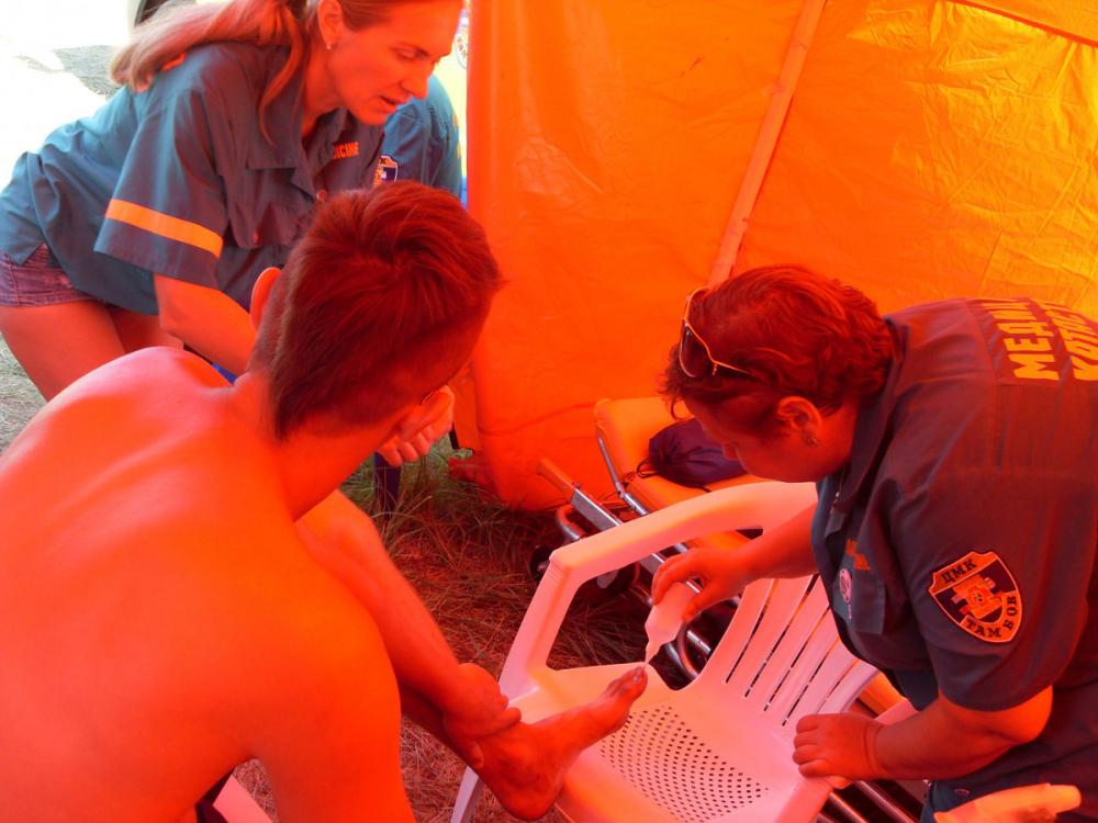 На «Черноземе» не пропадешь: 180 человек обратились за медицинской помощью на рок-фестивале