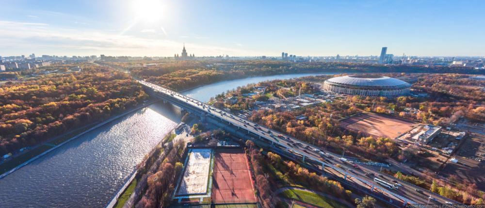 Тамбовчанина задержали за съемки с дрона в Москве