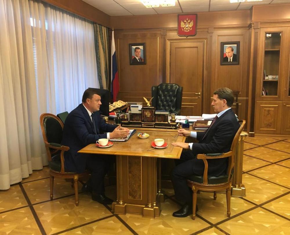 Вице-премьер России Алексей Гордеев обсудил с губернатором Александром Никитиным перспективы новых проектов в АПК региона