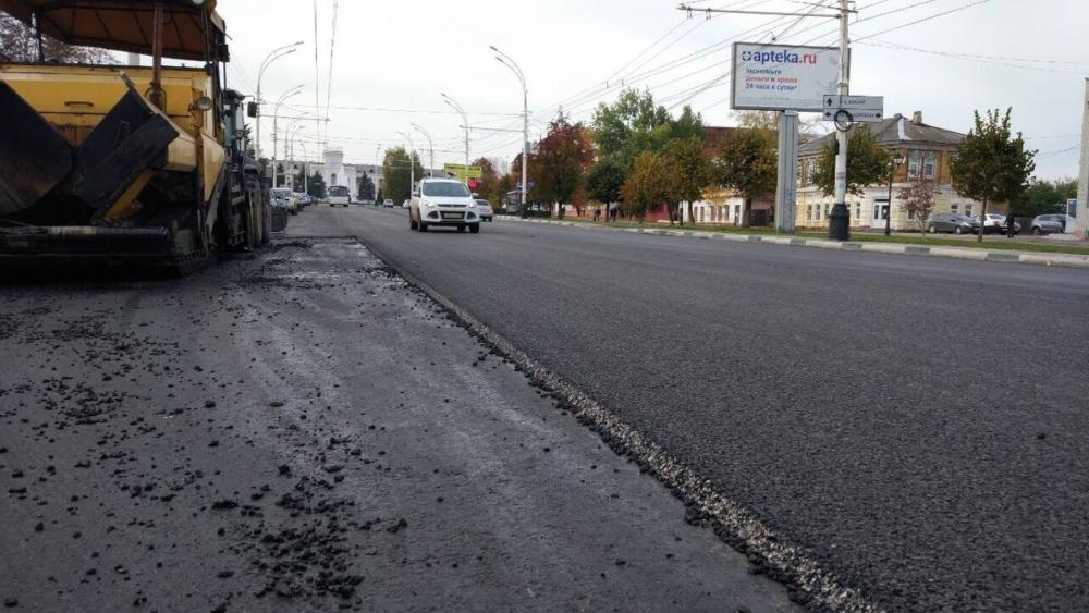 Ремонт дороги на Интернациональной завершен