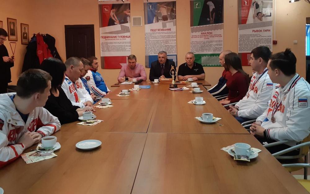 Элиту российского спорта готовят в Тамбове