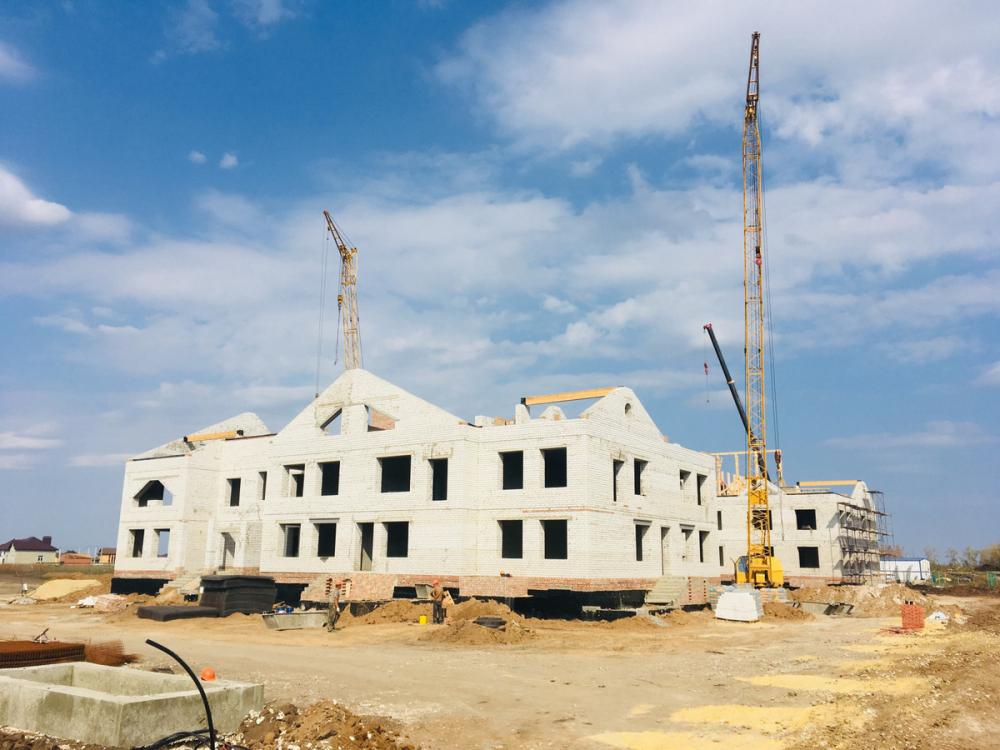 Детский сад в микрорайоне Майский будет построен в рекордно короткие сроки