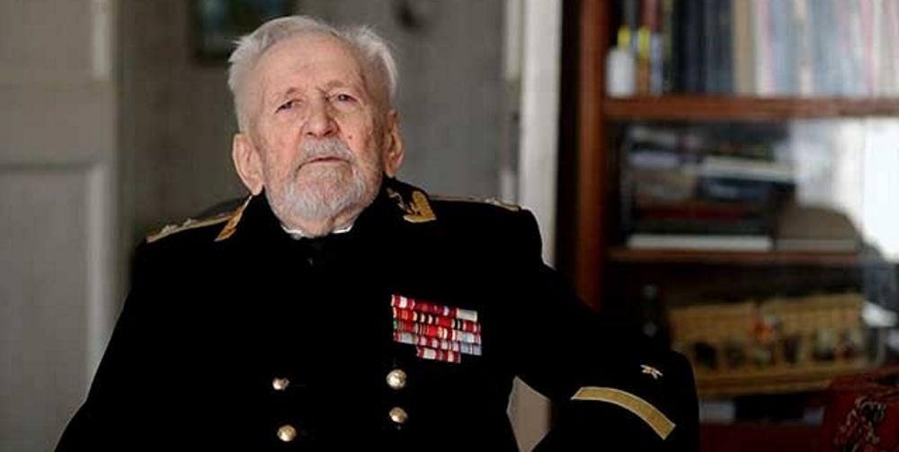 105-й день рождения отмечает старейший подводник России Юлий Ксюнин