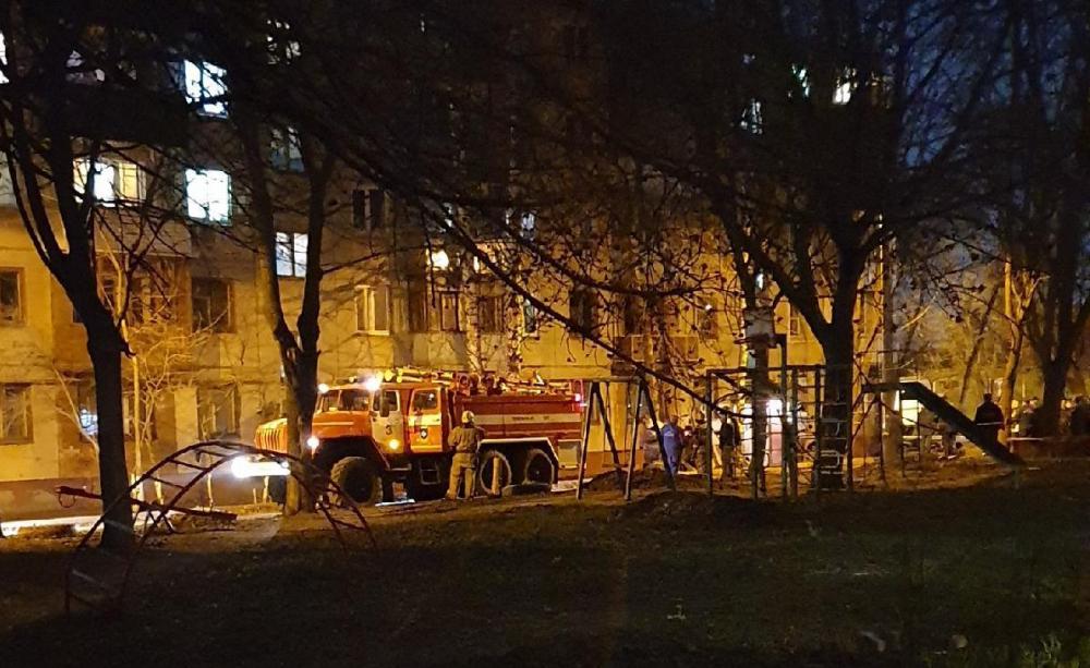 Стали известны подробности пожара с тремя пострадавшими на Никифоровской