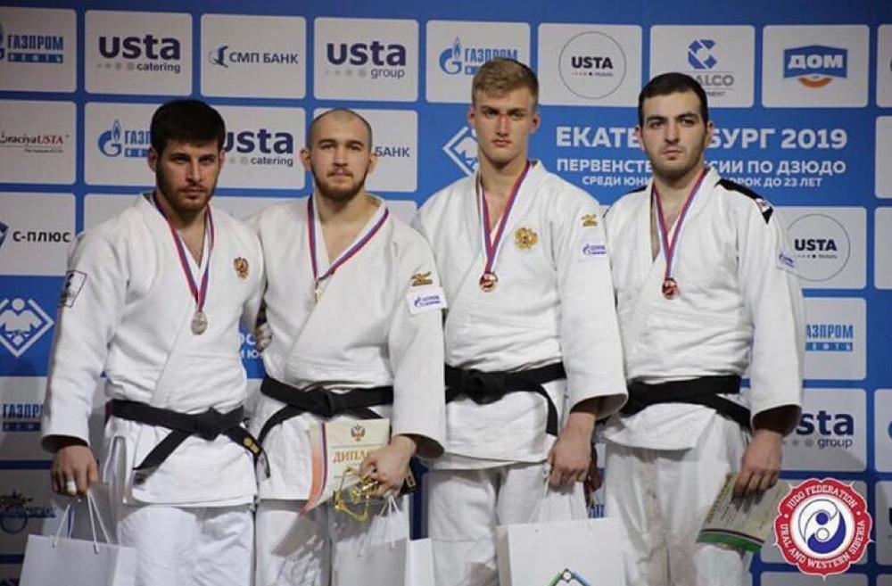 Виталий Плешаков – сильнейший дзюдоист страны до 23 лет