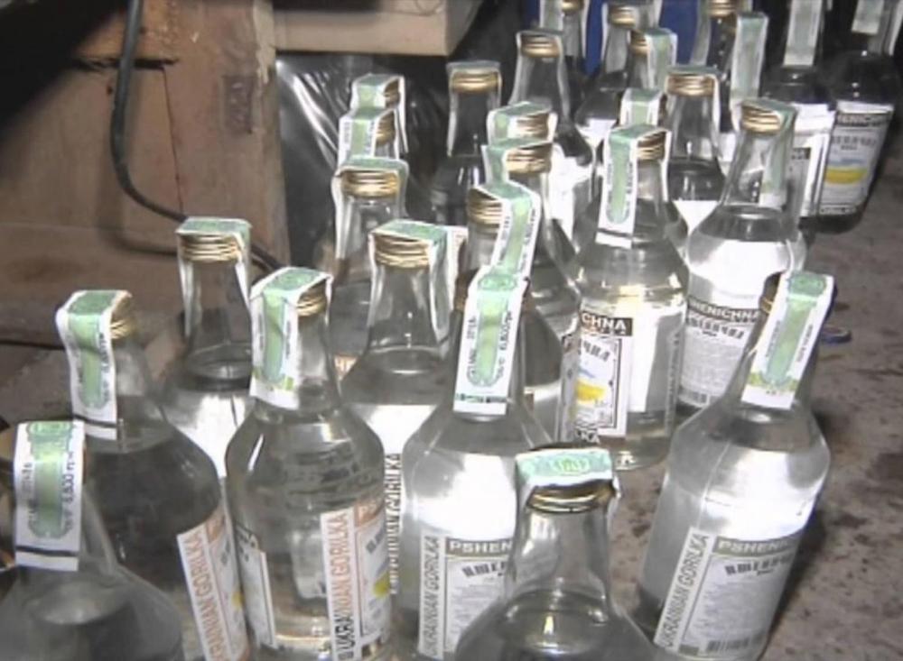 На 200 тысяч за торговлю «паленой» водкой был наказан тамбовчанин