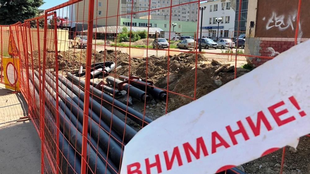 """""""Квадра"""" благоустроит все вскопанные в ходе ремонтных работ территории к концу октября"""