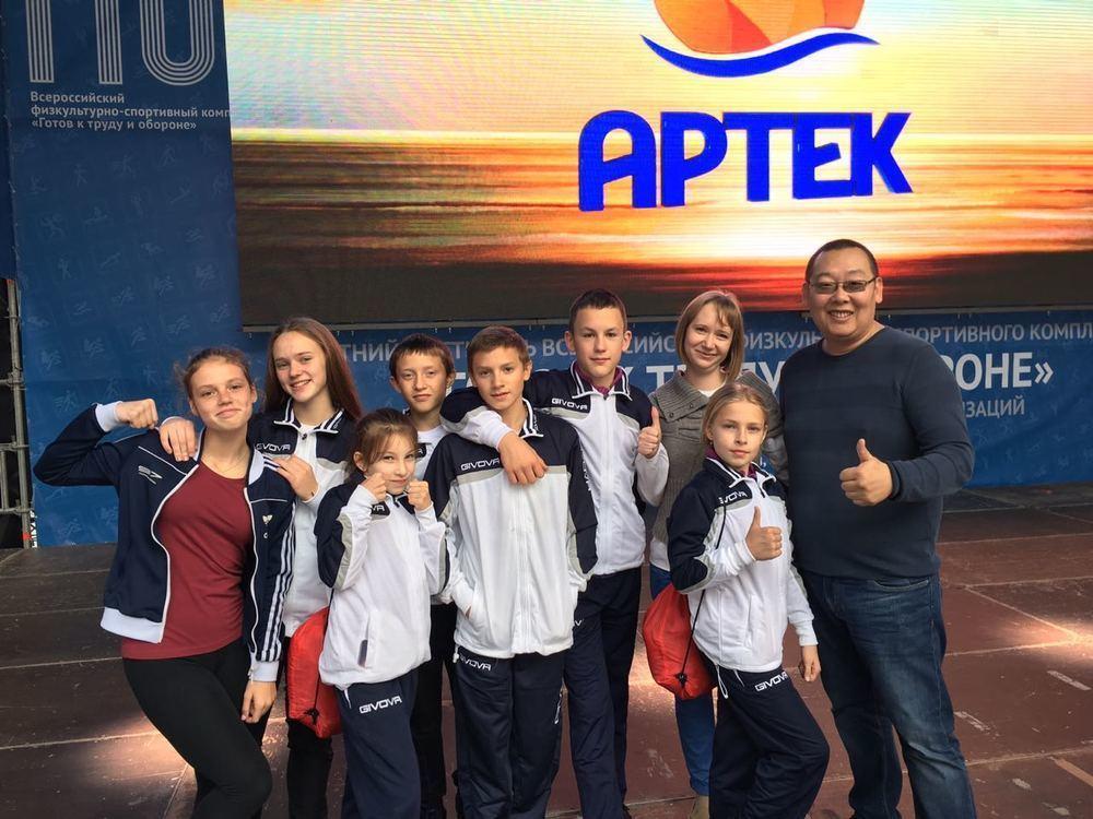 Тамбовчане штурмуют пьедесталы фестиваля ГТО в «Артеке»