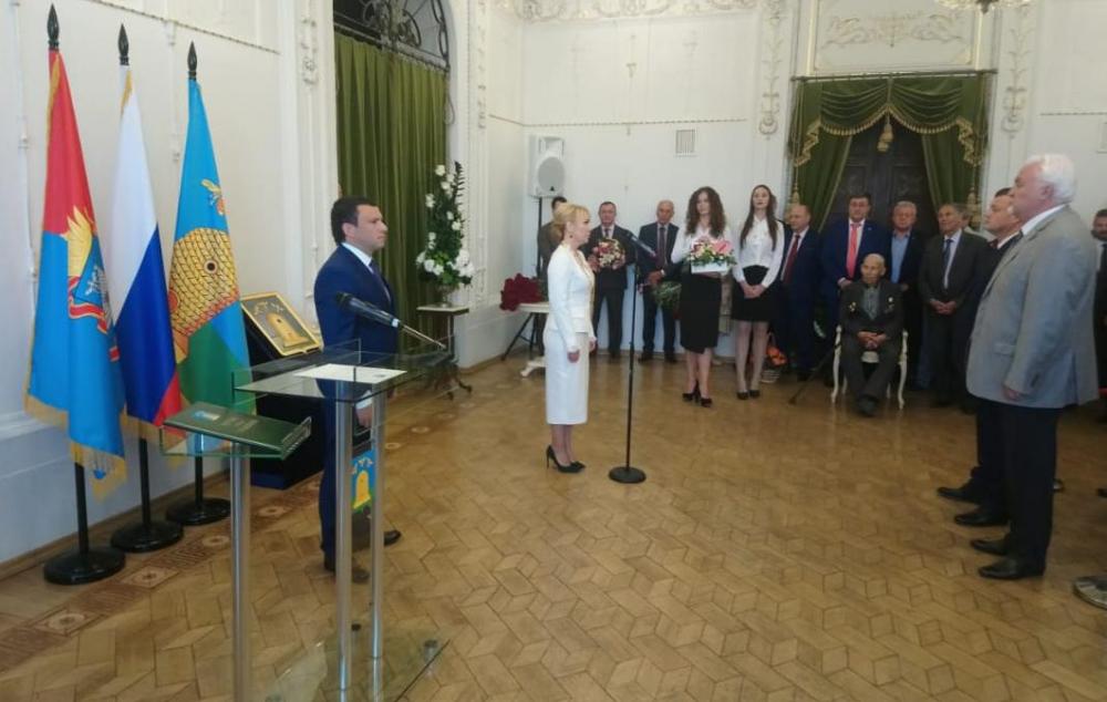 Наталия Макаревич - глава Тамбова. Официально