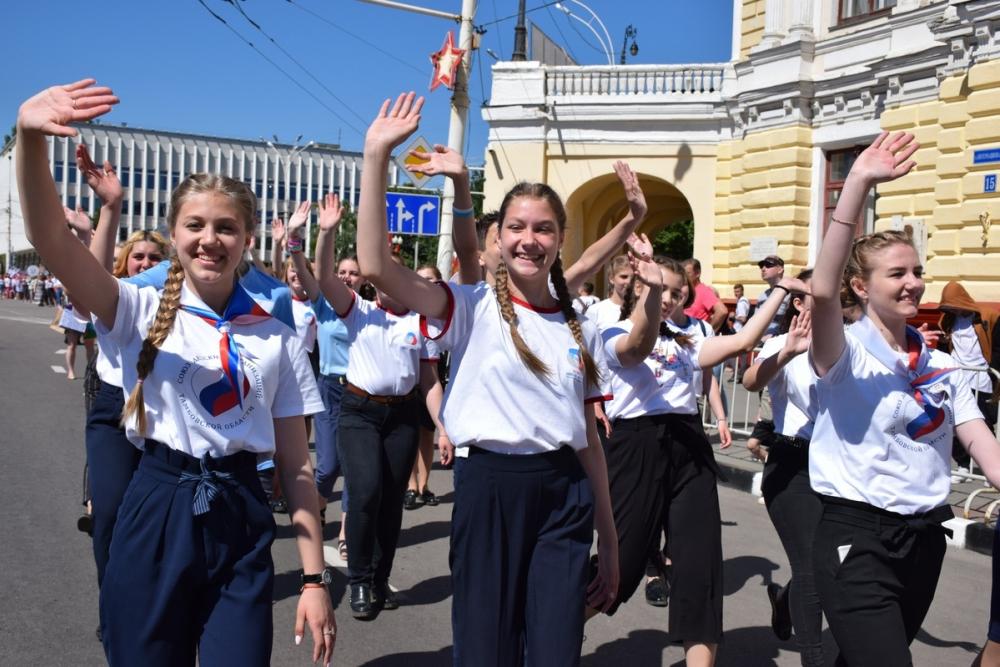 В Тамбове прошёл парад детских организаций