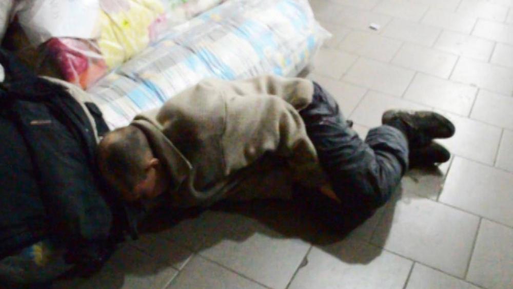 Миссия невыполнима  - вор в Моршанске уснул при попытке вынести чужое