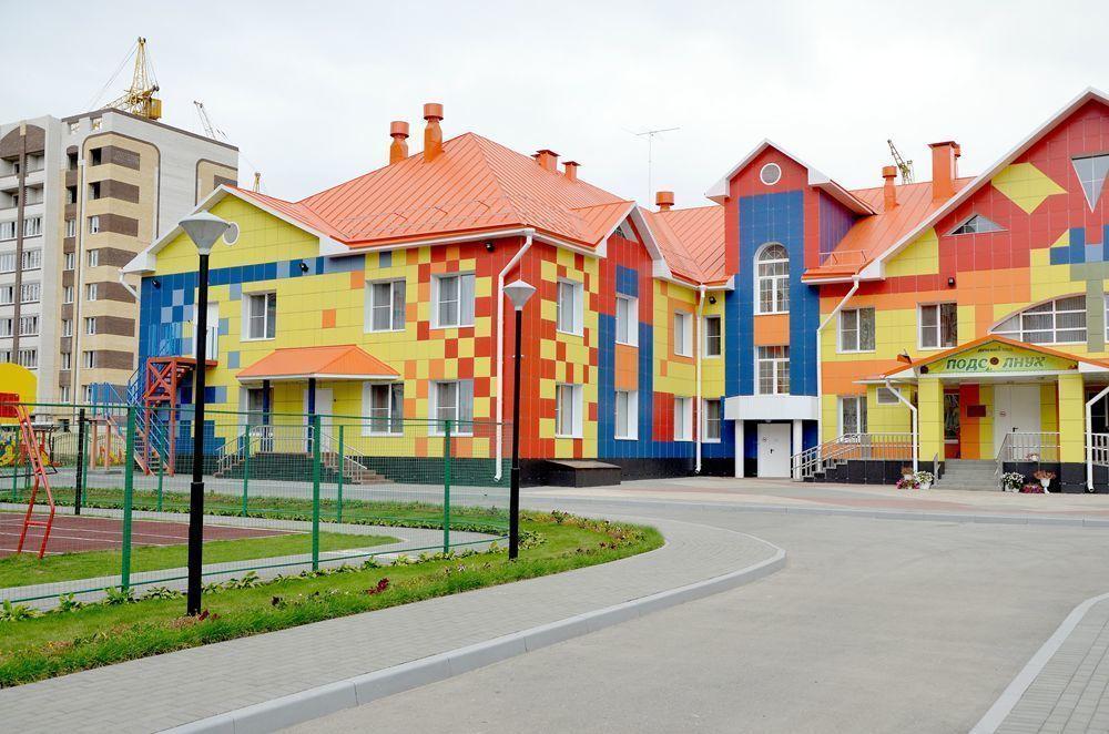 Больше 30 детских садов построено в области за 7 лет