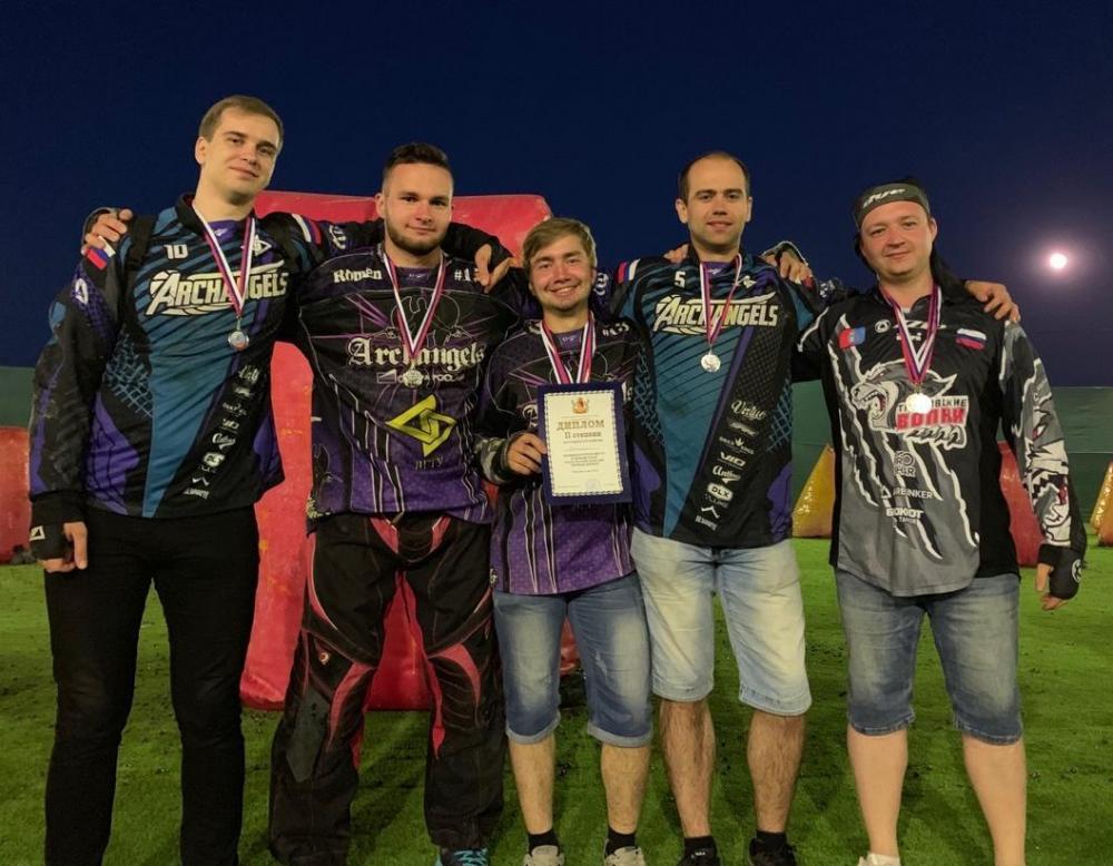Тамбовчане вернулись с медалями с соревнований по пейнтболу