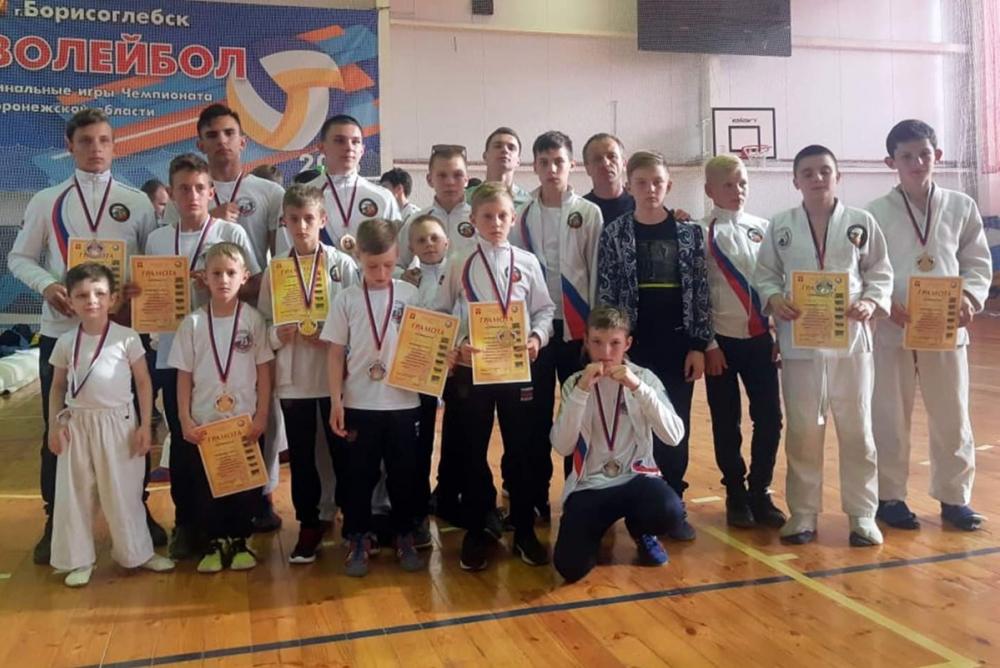 Юные моршанские казаки вернулись из Борисоглебска с наградами высшей пробы