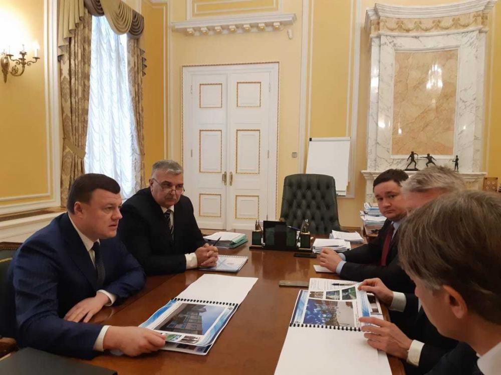 Губернатор Никитин и министр спорта Колобков подписали соглашение на 600 миллионов рублей