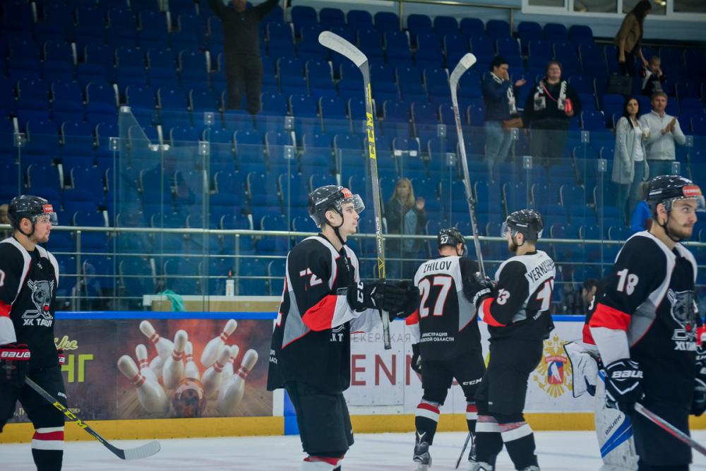 Победы не случилось: ХК «Тамбов» проиграл «Сарову» на домашнем льду